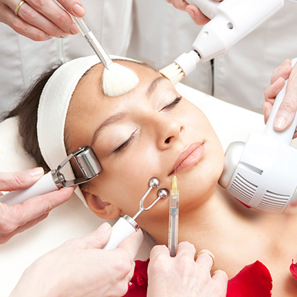 Facial Aesthetics various treatments