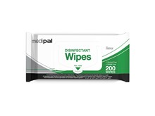 Medipal 3-in-1 Disinfectant F/Wrap Wipes